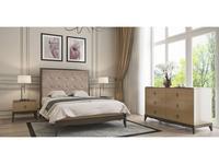 RFS: Монте-Карло: спальная комната (дуб медовый, серо коричневый)