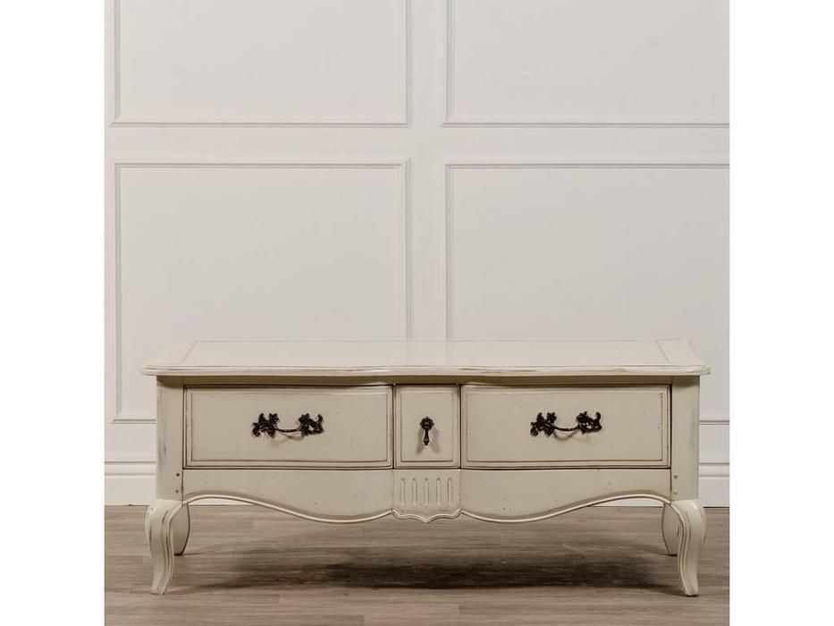 CUF Limited: Provence: стол журнальный  (состаренный белый)