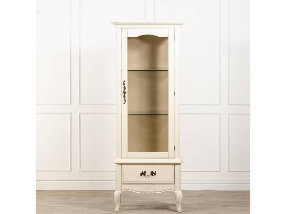 CUF Limited: Provence: витрина 1 дверная  правая (состаренный белый)