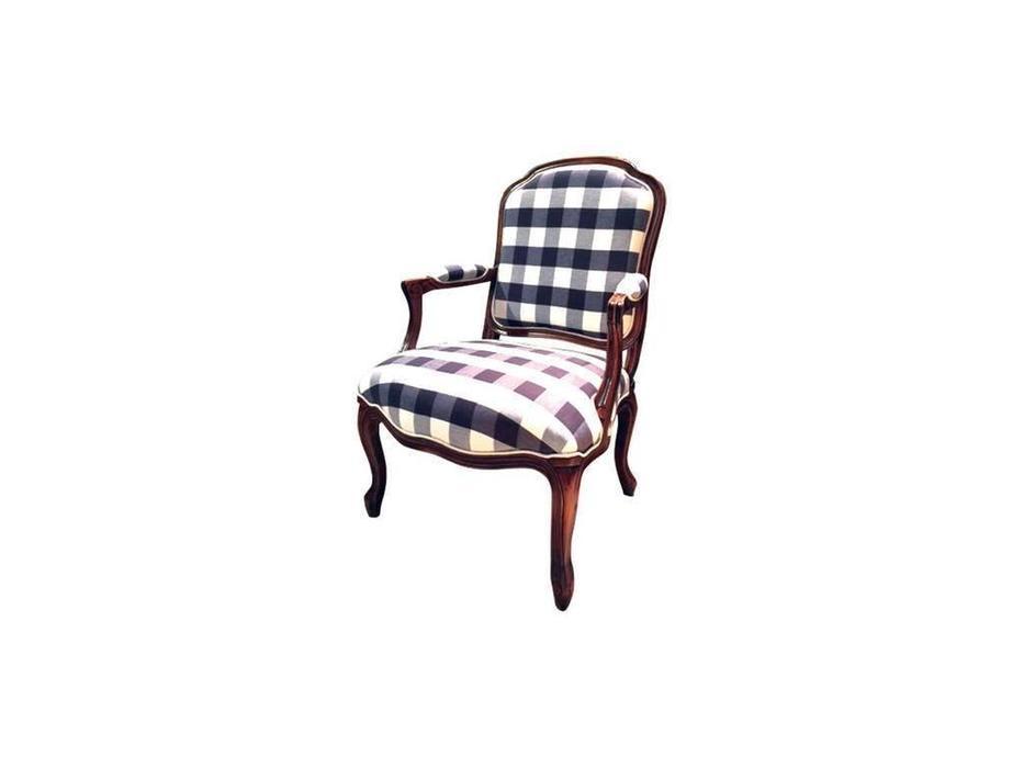CUF Limited: San Teodoro: кресло  (D71 коричневый, ткань #58)