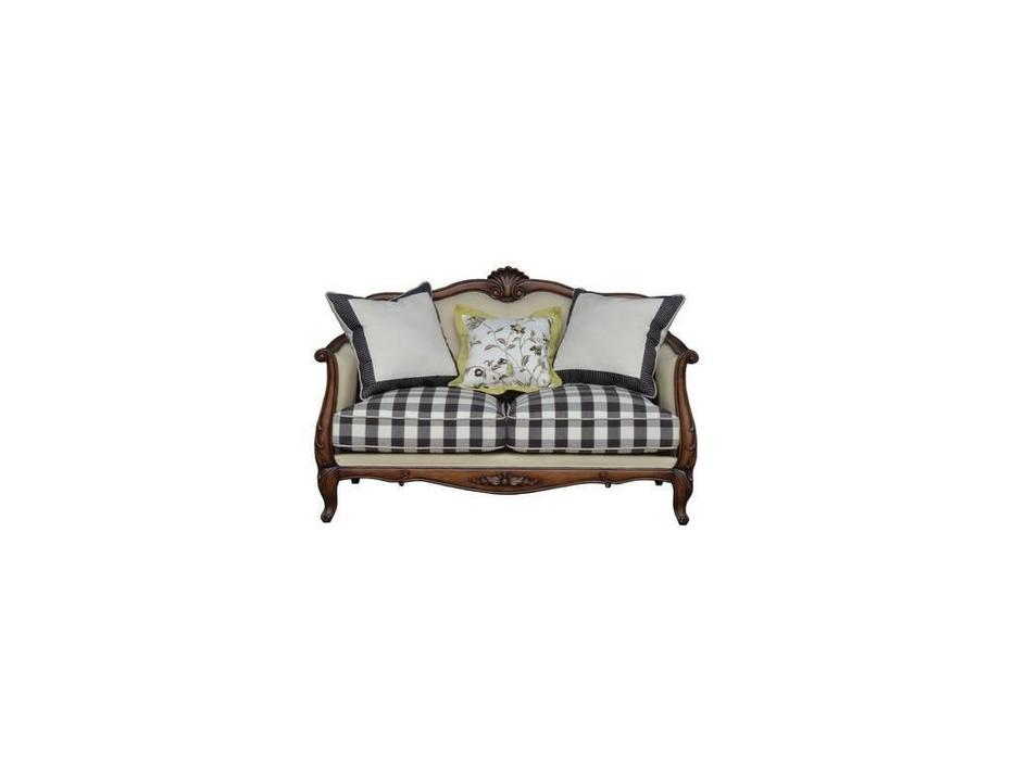 CUF Limited: San Teodoro: диван 2 местный  (D71 коричневый, ткань #58, 59)