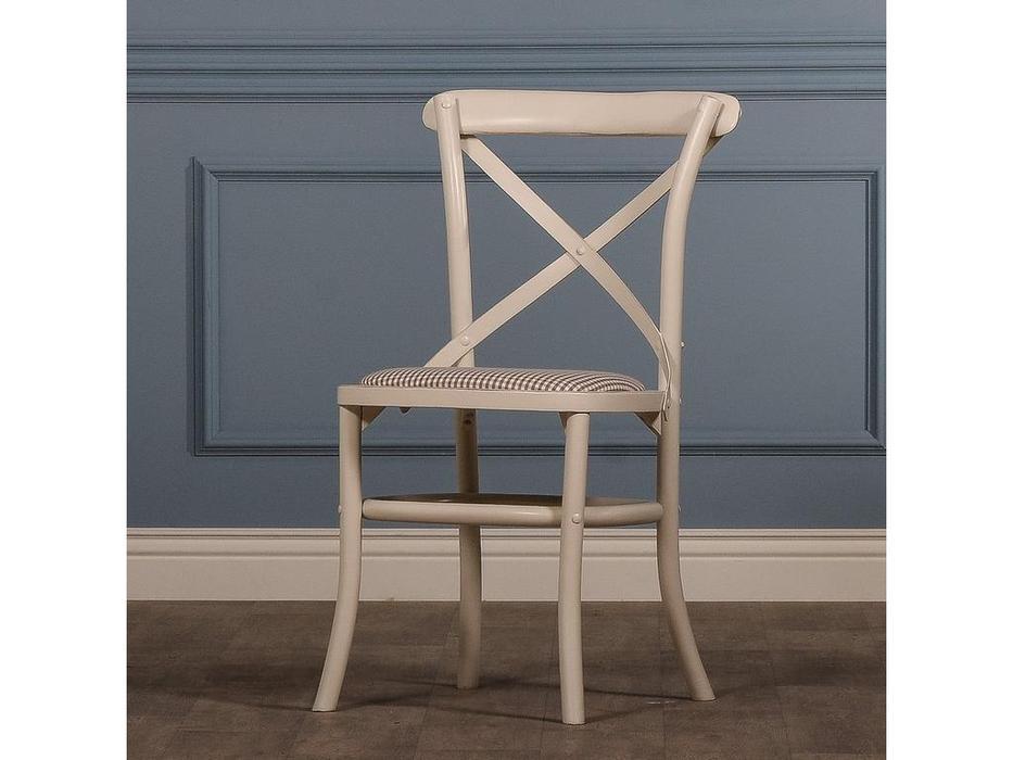 CUF Limited: Siena: стул  (M01 белый, обивка #F37)