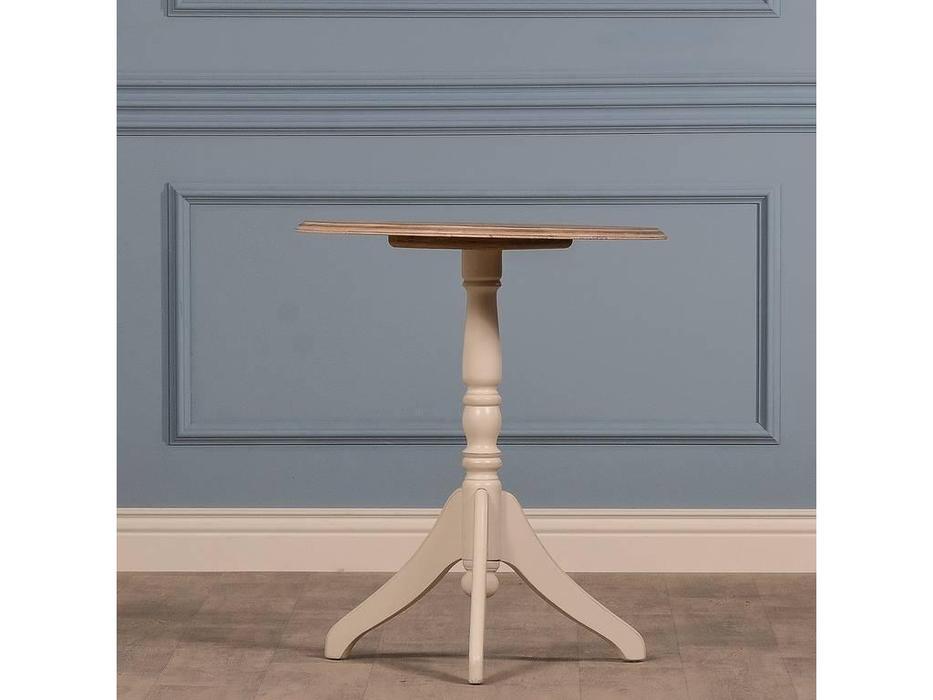 CUF Limited: Siena: стол кофейный  (белый корпус M01, бежевый топ M02A)
