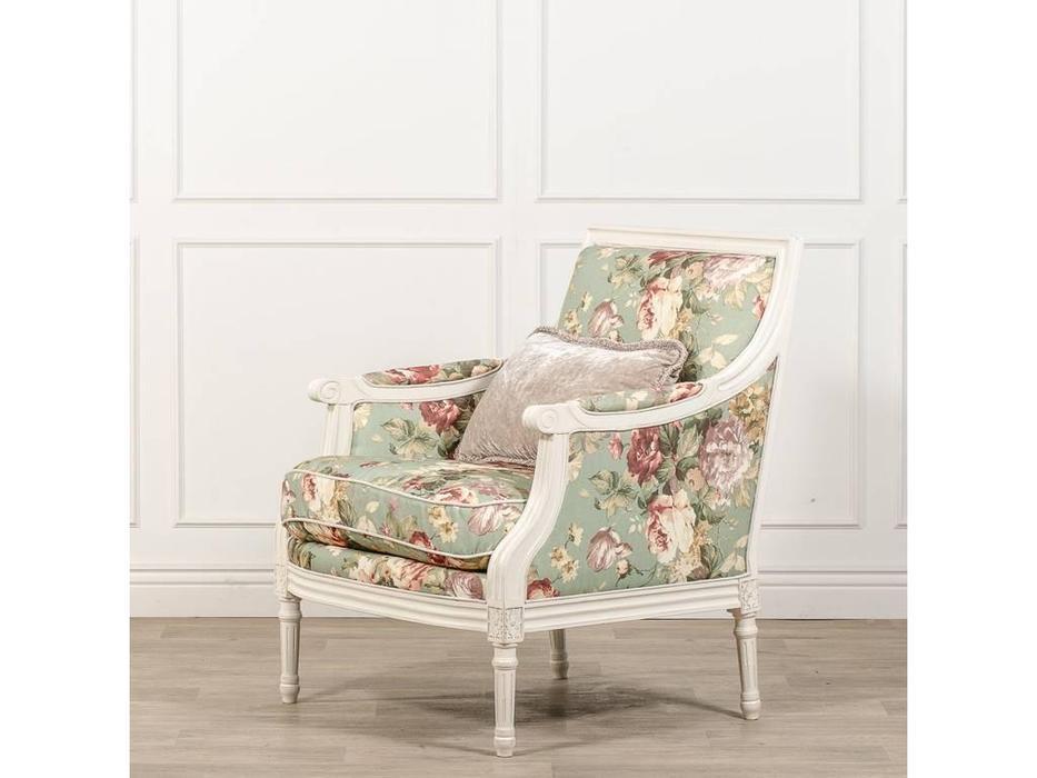 CUF Limited: Siena: кресло  (M01 белый, обивка F61)