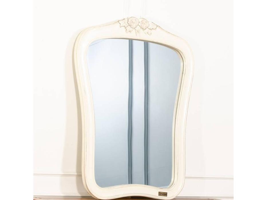 CUF Limited: Provence: зеркало навесное  (белый состаренный)