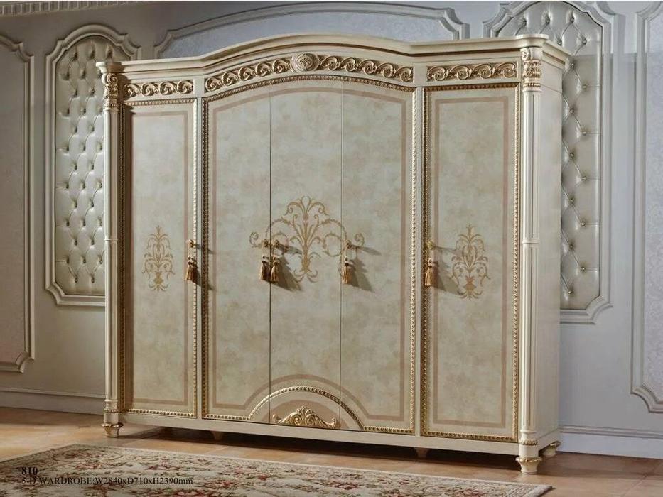FurnitureCo: Атанасия: шкаф 5 дверный  (беж)