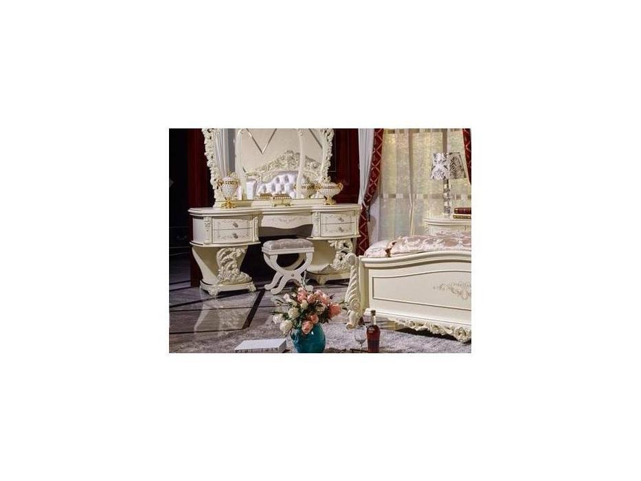 FurnitureCo: Мирелла шарм: пуф  (слоновая кость)