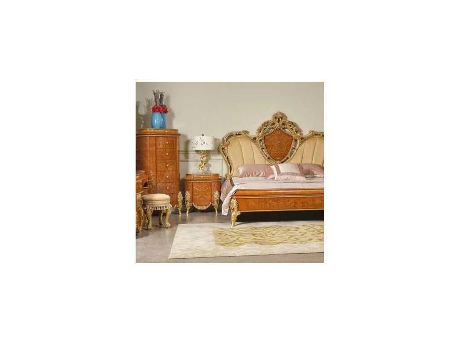 FurnitureCo: Беатриче: тумба прикроватная  (орех светлый)