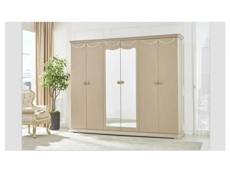 шкаф 6 дверный
