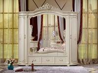 FurnitureCo: Мирелла шарм: шкаф 6 дверный  (слоновая кость)