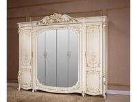FurnitureCo: Батичелла new: шкаф 6-ти дверный  (беж)