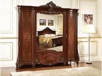 FurnitureCo: Лероз: шкаф 5 дверный  (орех)
