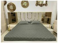 FurnitureCo: Luxury: кровать двуспальная 180х200 (беж)