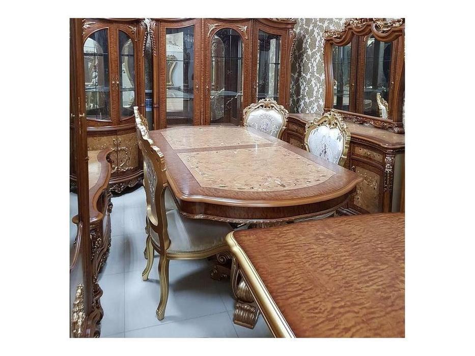 FurnitureCo: 972: стол обеденный  раскладной (орех)