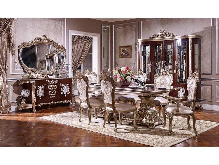 FurnitureCo: 973: гостиная  (орех, золото)
