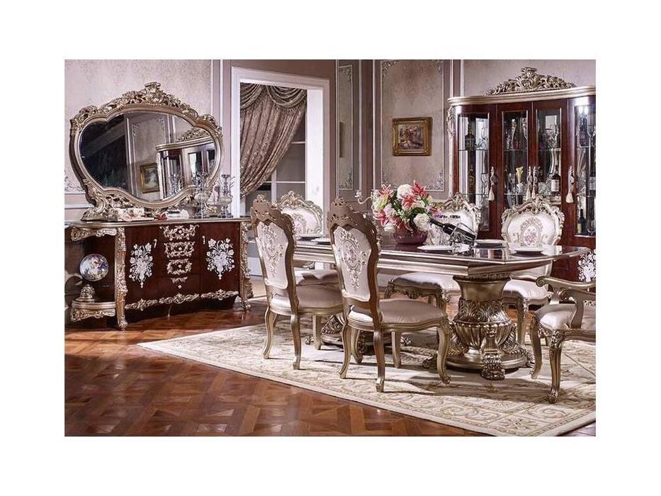 FurnitureCo: 973: стул  (орех, золото)
