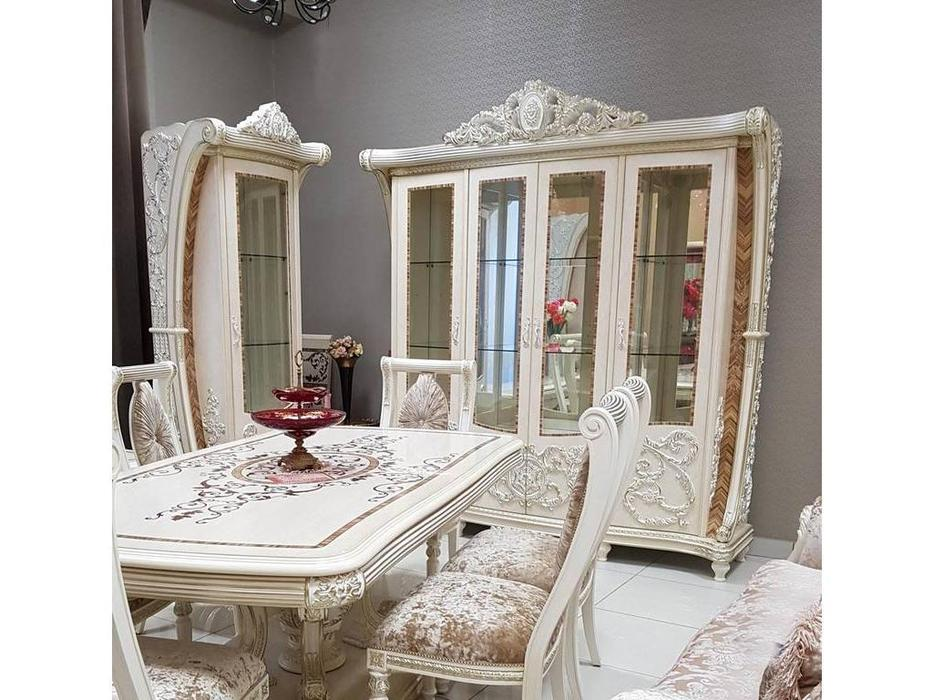 FurnitureCo: Love: витрина 4 дверная (беж)