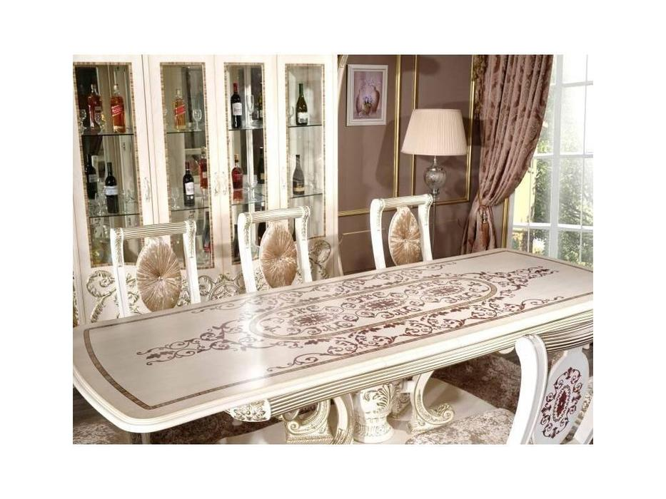 FurnitureCo: Love: стол обеденный раскладной 240-280 (беж)