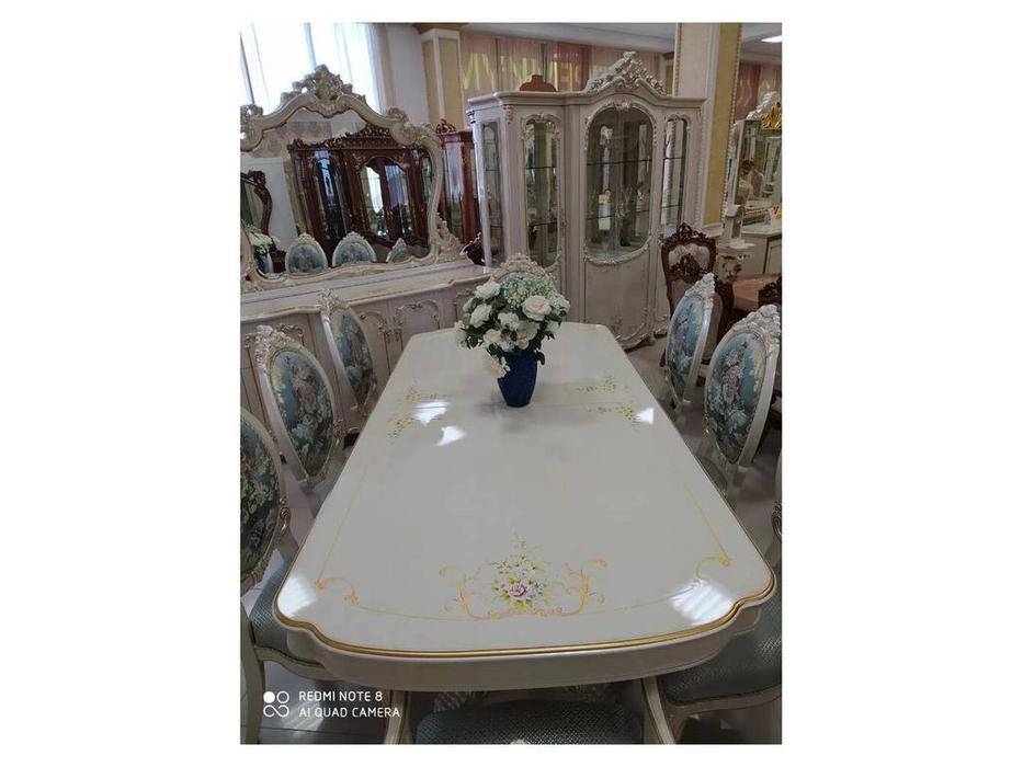 FurnitureCo: Капри В: гостиная  6 стульев 2 кресла (беж)