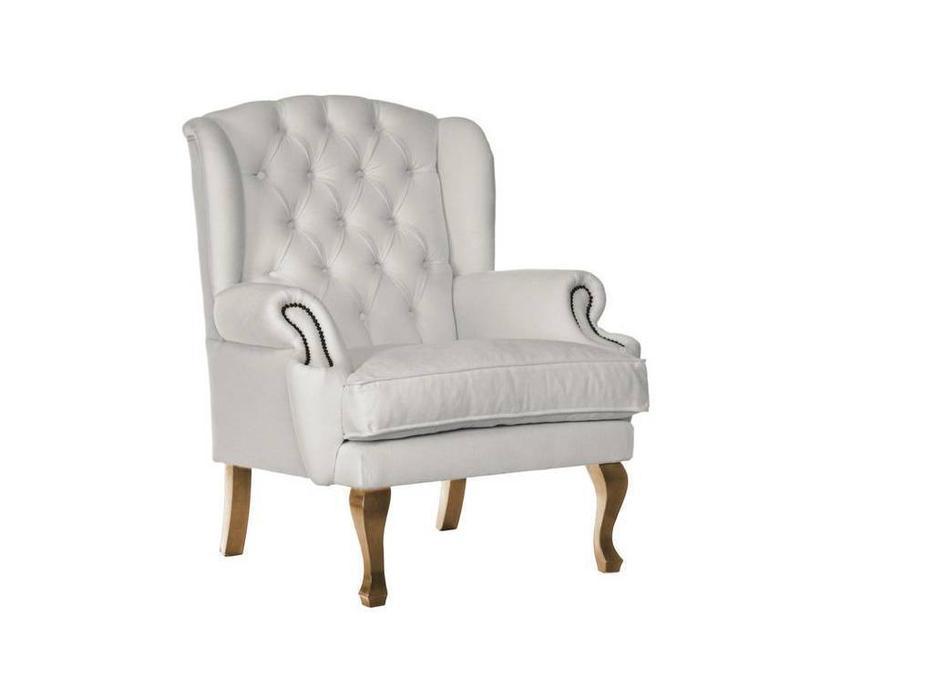 Ormos: Dama: кресло (белый)