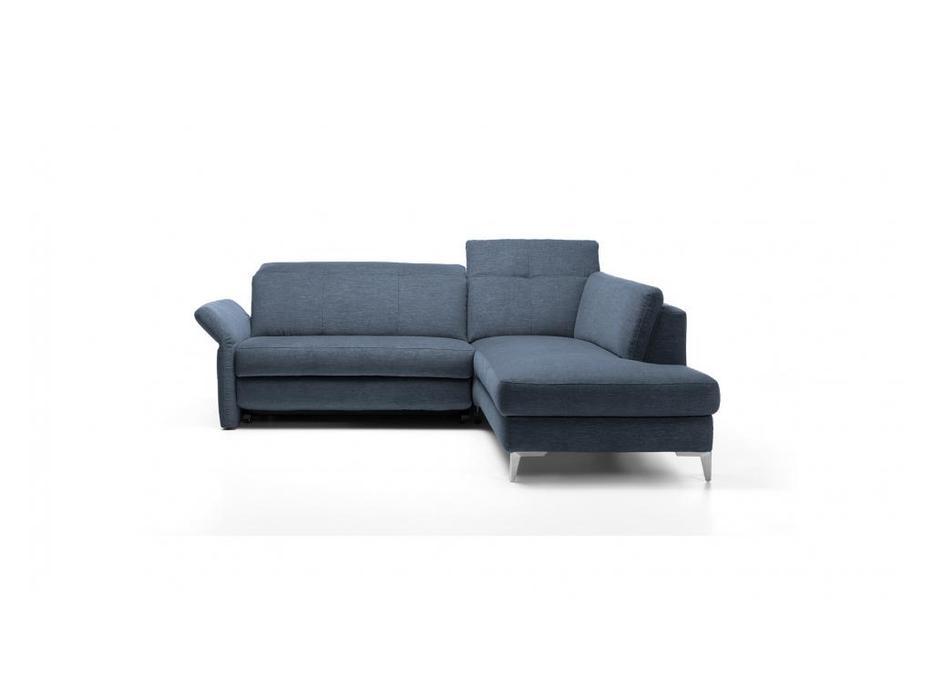 Rom: Bernina: диван  угловой (синий)