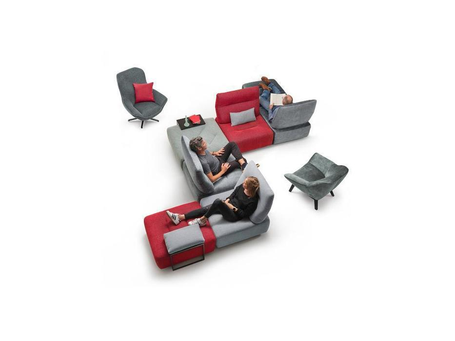 Rom: Vegas: диван  модульный (серый)
