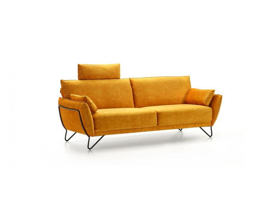 Rom: Montego: диван 3 местный  (желтый)