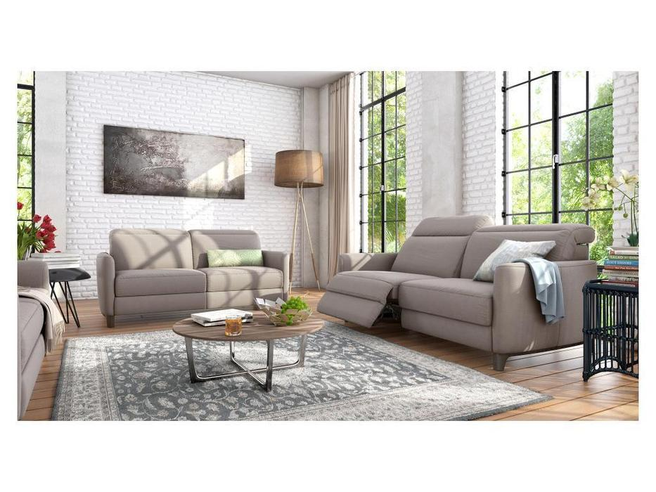 Rom: Bellona: диван 3 местный  (серый)