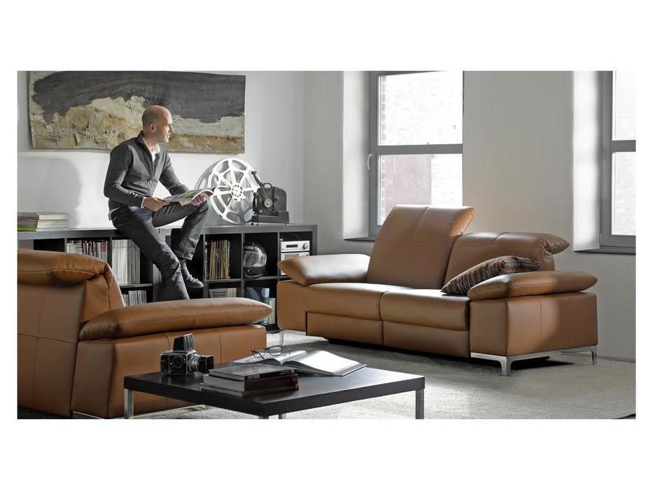 Rom: Chronos: диван 3 местный  (коричневый)
