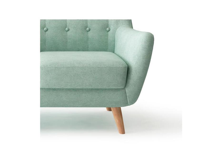 Bradexhome: Picasso: диван 2 местный  (бирюзовый)