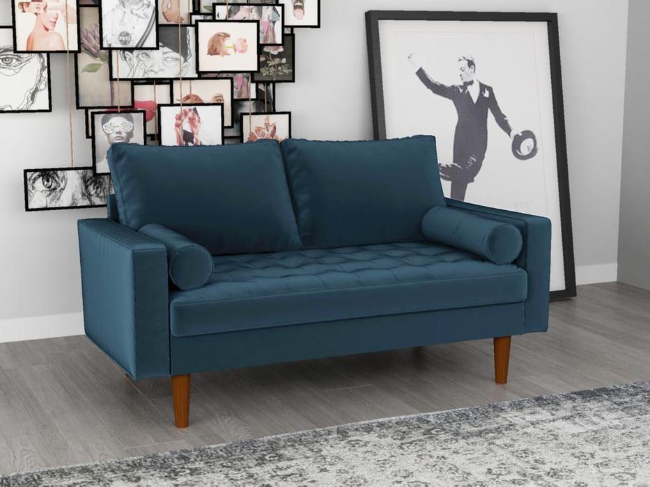 Bradexhome: Scott: диван 2 местный  (синий)