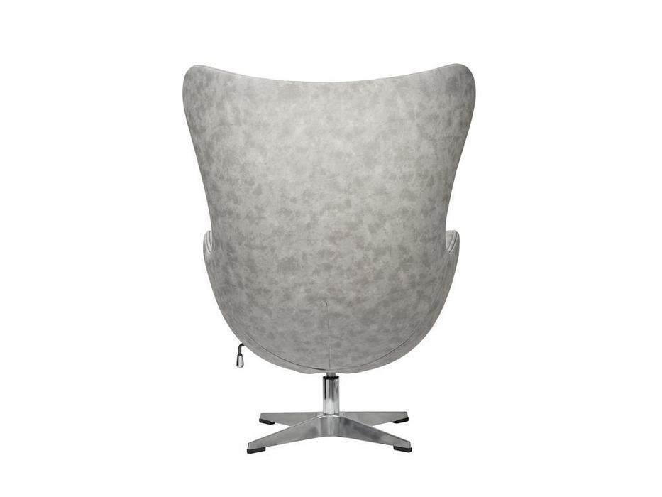 Bradexhome: Egg Chair: кресло  (светло-серый)