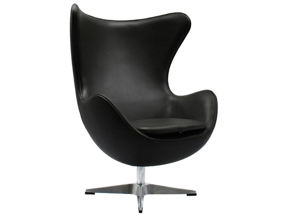 Bradexhome: Egg Chair: кресло  (чёрный)