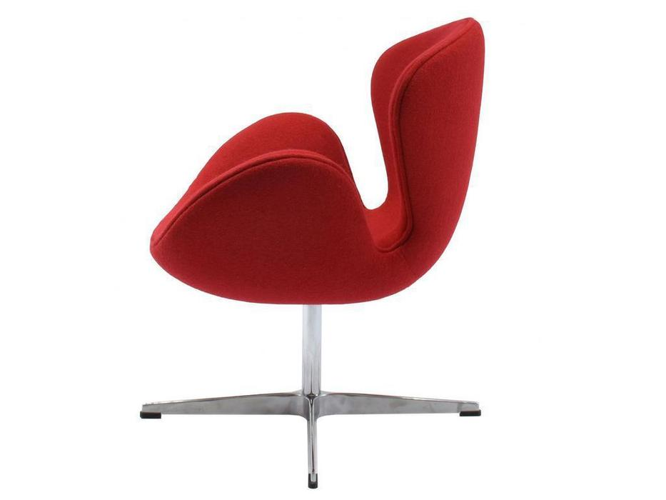 Bradexhome: Swan Chair: кресло  (красный)