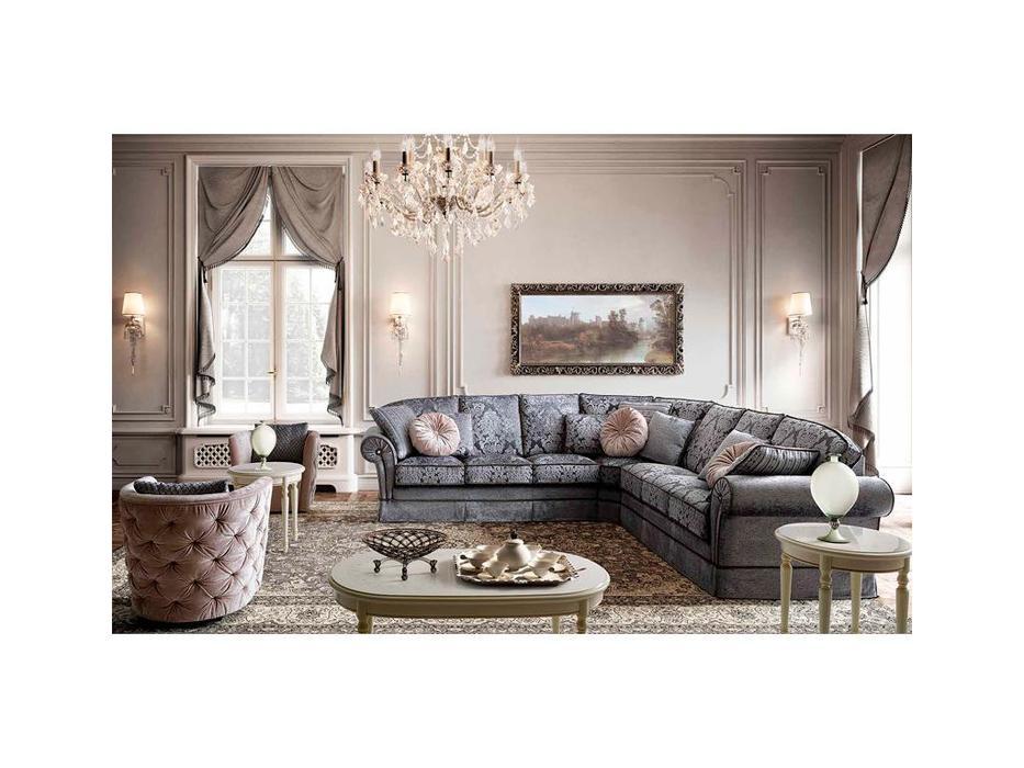 Camelgroup: Nostalgia: диван угловой (ткань)