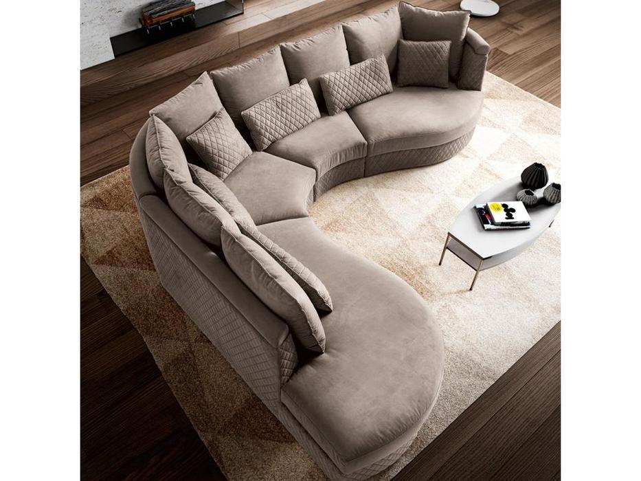 Camelgroup: New York: диван угловой (ткань)