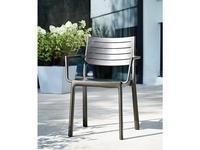 5246803 стул садовый Keter: Metaline Armrest